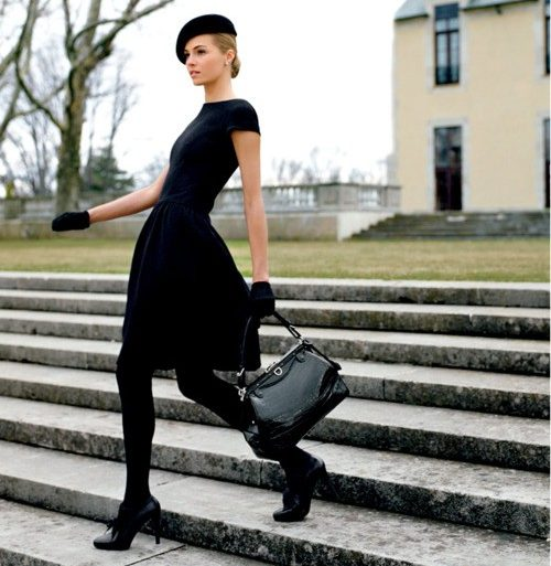 What is your Personal Trademark? The beauty of head to toe black.