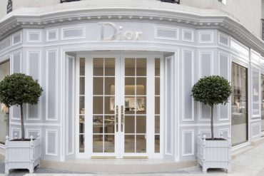 Fashionable Paris at Christian Dior