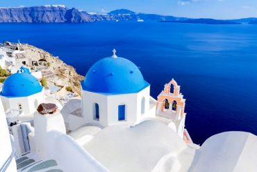 Santorini is one of the most romantic destinations in Greece