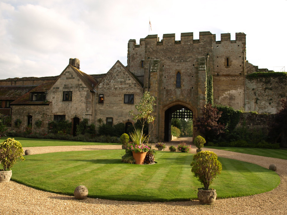 If you're holidaying in the UK, why not stay at Amberley Castle and feel like royalty