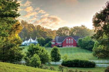 At Blackberry Farm there's plenty of spa treatments to keep you happy and you'll sleep like a top
