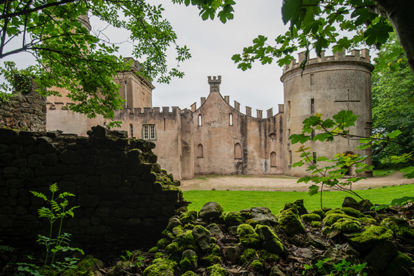 Clytha Castle is palatial bolt hole in South East Wales