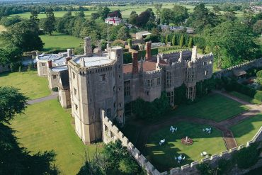 Thornbury Castle is a palatial bolt hole in Gloucestershire