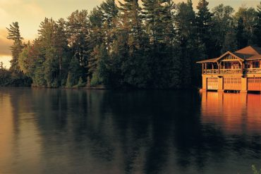 The Point at Lake Saranac is the ultimate romantic getaway from New York City