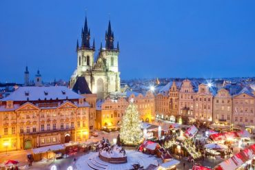 The chocolate box fantasy of Prague and its Christmas Market is not to be missed