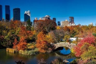 Central Park may seem obvious as the perfect fall walk, but then you can't beat a classic for sensational leafy views.