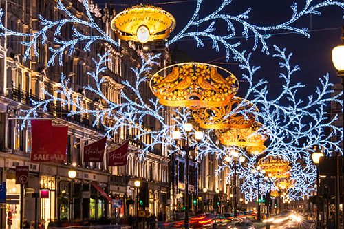 People travel from all around the world to experience the magic, sparkle and twinkle of the season in London