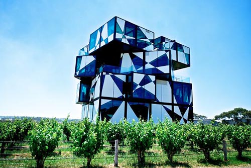No trip to McLaren Vale is complete without a visit to the d'Arenberg Cube