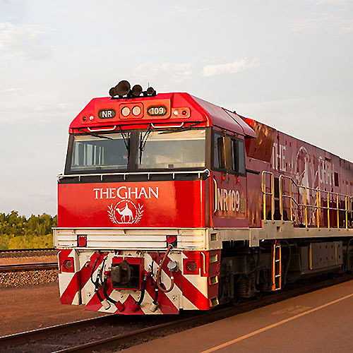 The Ghan is one of the world's greatest rail journeys