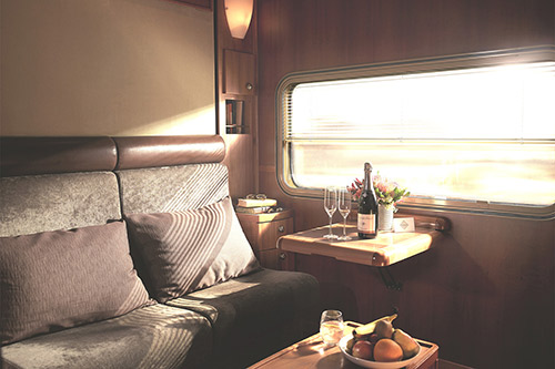 The Ghan's Platinum Class is the ultimate in luxury rail travel