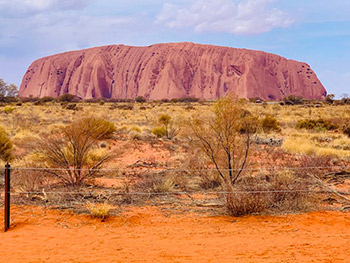 Uluru is the spiritual heart of Australia